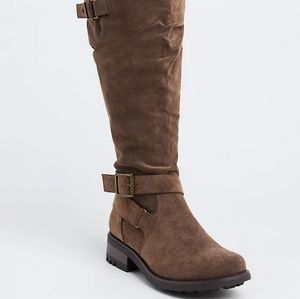 TORRID SIZE 12 EXTRA WIDE CALF BRAND NEW BOOTSs